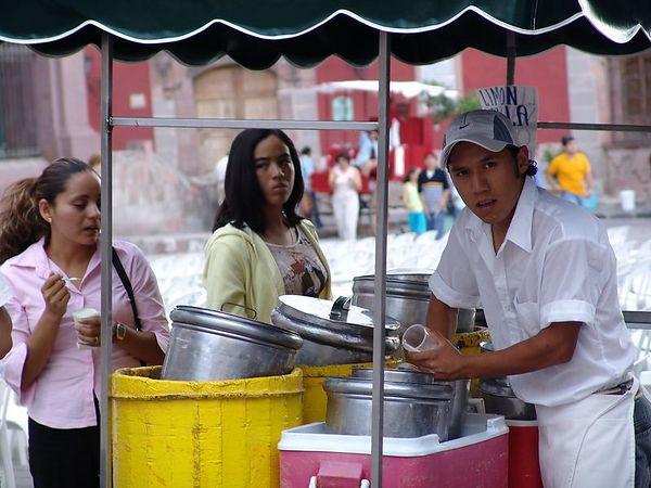 Ice Cream is big in San Miguel and the surrounding cities.  you can get any flavor.  Including Shrimp flavored ice cream.