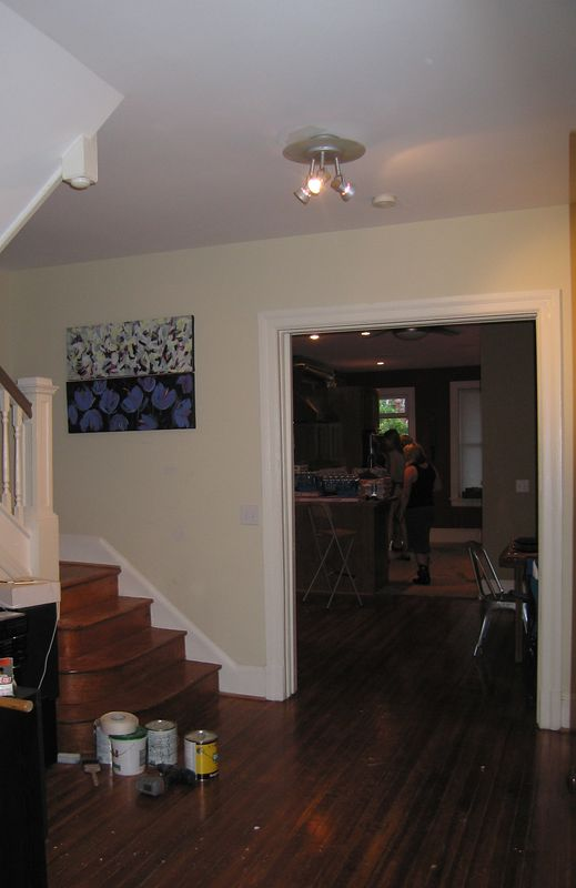Interior view - with work in progress - thank God Kelly and I aren't the only ones with work in progess