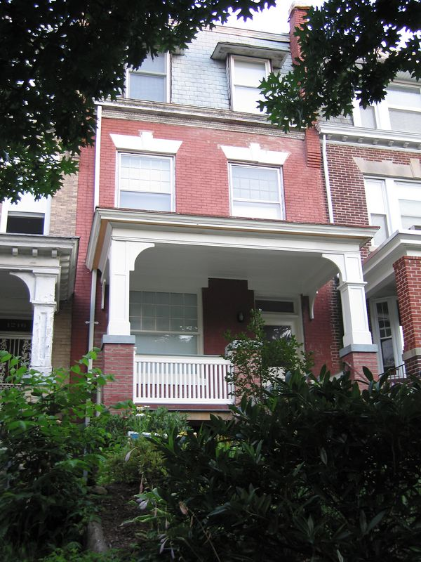 Jen's friends (John and Sarah) house in DC