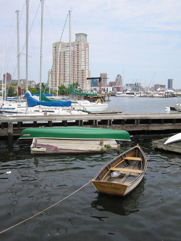 Skipper Jen took us sailing in the harbor Saturday