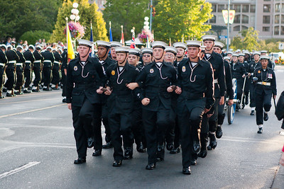 Navy Cadet Parade