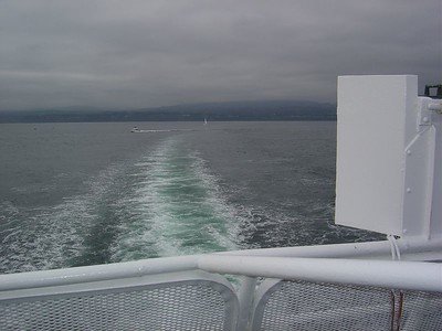 A few from the stern of the MV Coho ferry.