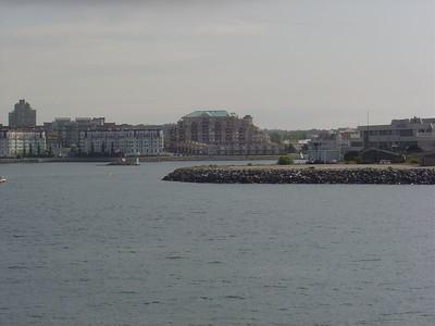 Entering Victoria harbor.  O Canada!