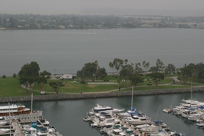 A view of Mission Bay.