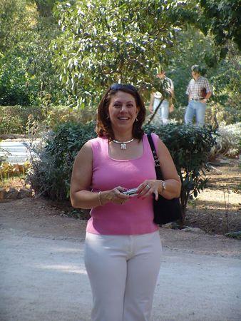 Sherri at the Royal Gardens.