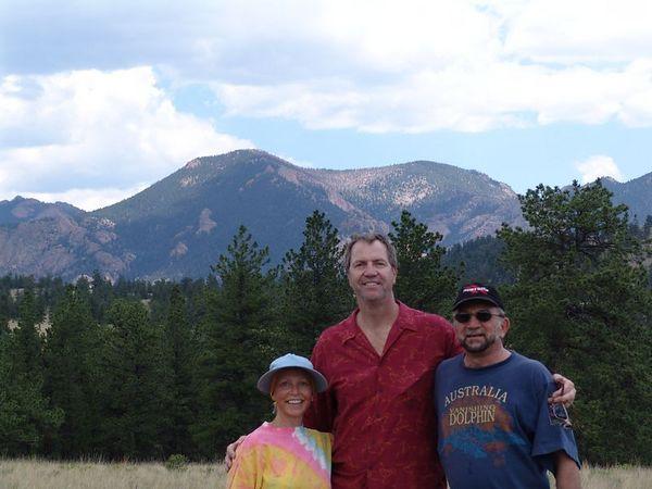 Vicki, Tim and Steve