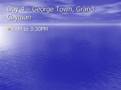 04 Grand Cayman