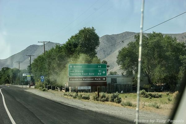 Drive to Yosemite