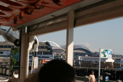 A view of Qwest and Safeco field.