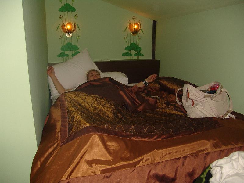 Teddi had a loft room