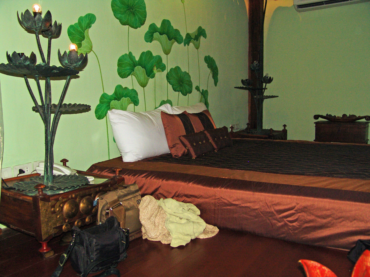 Our quaint room - The Lotus Room