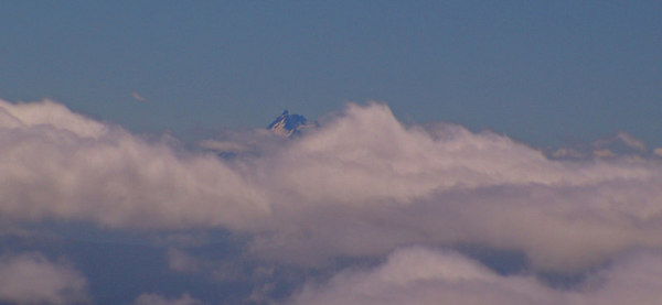 Mt. Jefferson in the distant background