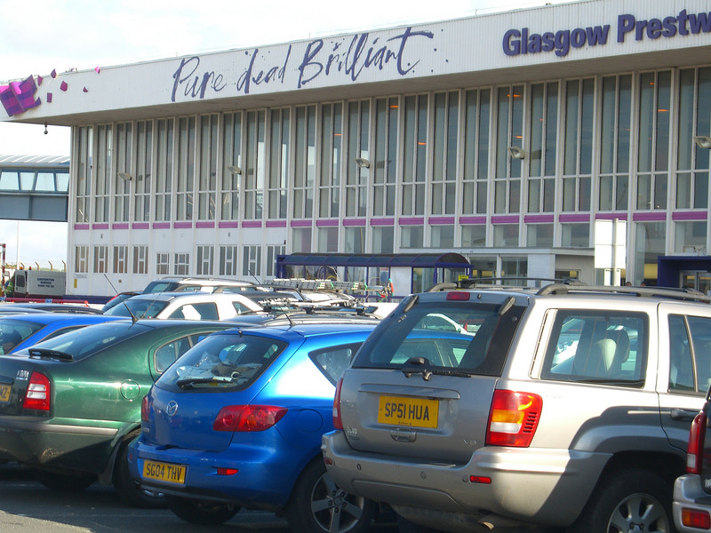 CIMG5635 The Glasgow Prestwick Airport is NOT the one a terrorist drove a gas-filled car into (Glasgow