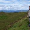 David's nephew Dean near Queens View with Loch Lomond, Scotland in background.