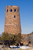 Grand Canyon - Desert View<br /> A tower contructed in the 1930's in style of Native Americans.