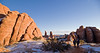 A great hike at Klondike Bluffs in Arches National Park.