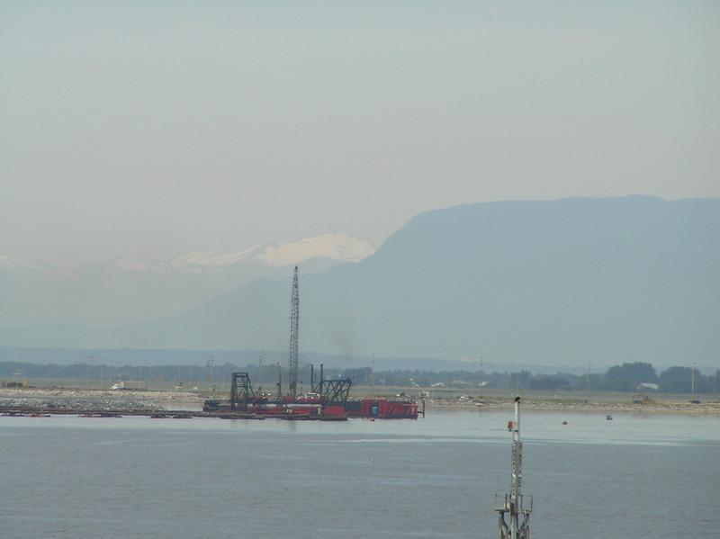 Mt. Baker's snow capped peak