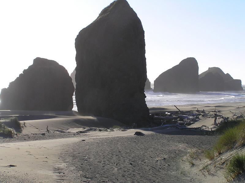 Rocks near Cannon Beach, OR