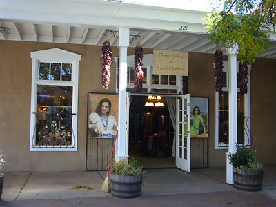 One of many galleries in Santa Fe.