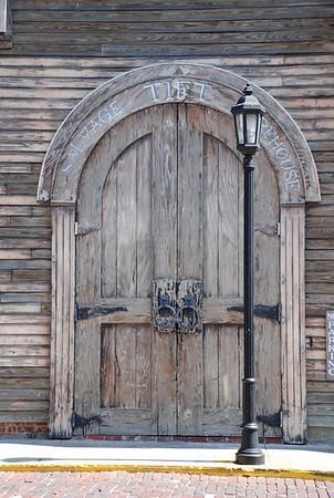 The shipwreck museum doors, Key West Florida