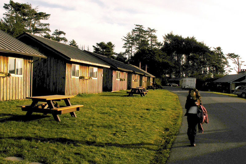 Kalaloch Lodge Cabins, Olympic Peninsula, Washinton State 2007 October.