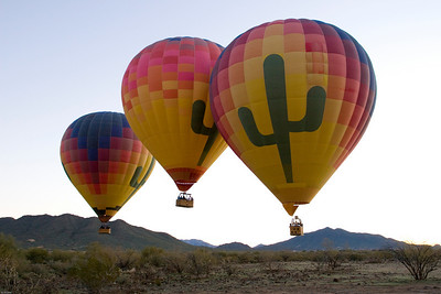 2008-01-12 Hot Air Ballooning