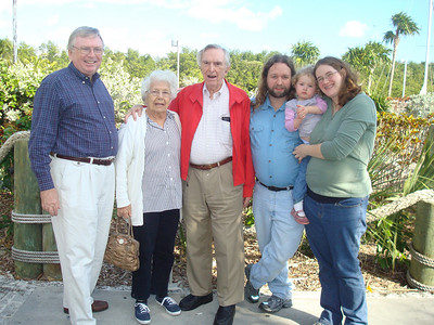Peter, Betty, Popi, Eric, Beverly, and Deb