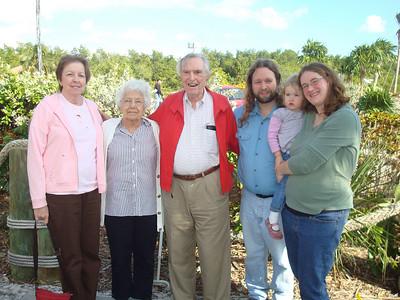 June, Betty, Popi, Eric, Beverly, and Deb