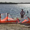 Setting up para-sailing