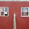 garage door, off Corn Neck Road