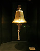 The ship's bell from the RMS Olympic, which was a sister ship to the Titanic and was built at the same time as the Titanic.