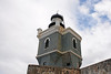 A closer view of the lighthouse at Fort San Felipe del Morro.