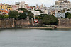 A view of la Puerto de San Juan, which was the official entrance through the city walls for those who came to San Juan on sailing ships during the colonization period.