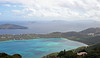 A view of Magens Bay from the highest point on St. Thomas.