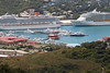Another view of the boats and ships in the St. Thomas harbor.