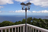 A view of the ocean from the Estate of t. Peter's Greathouse, which used to be a private home.