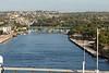 A closer view of the pier at La Romana.