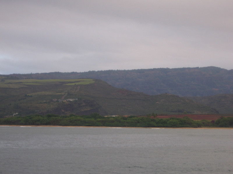 If you saw the pictures from our trip to the canyon... here is a view from the ocean side.
