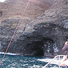 Caves were used by fisherman long ago.