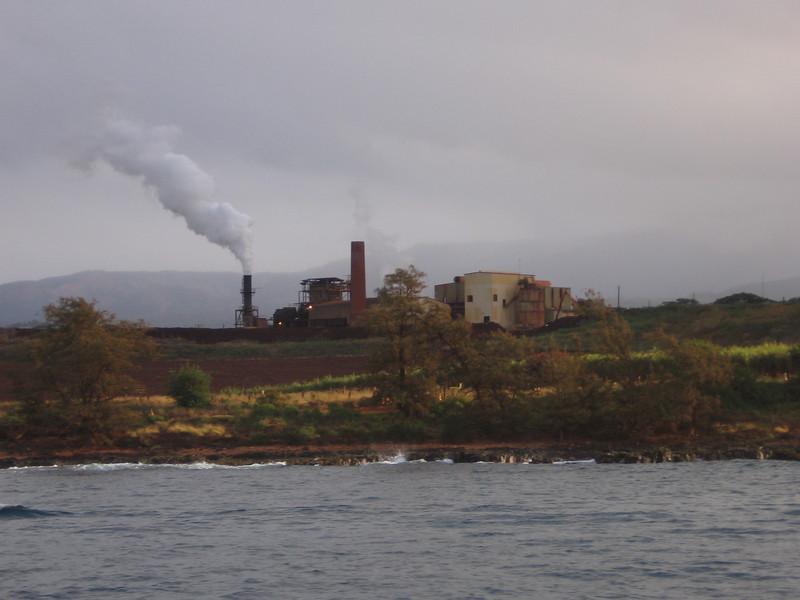 Last operating sugar mill on the island.