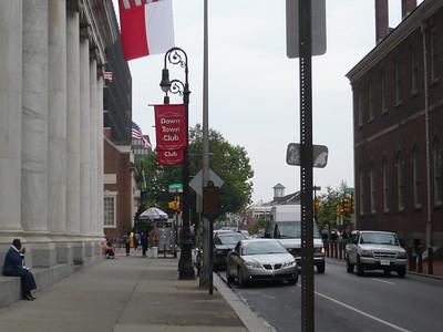 Downtown Philadelphia - aka Center City.