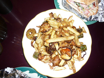 Alyan's famous french fries.  They are addicting!