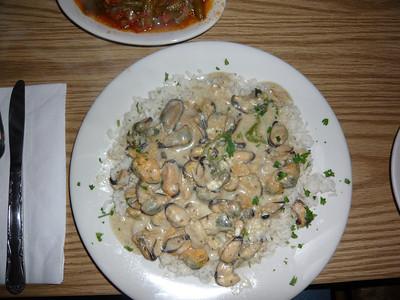 Mussels Saganaki @ Effie's