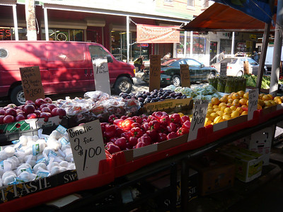 The Italian Market on 9th Street.  Amazing prices.  6 red bell peppers for $1.00?