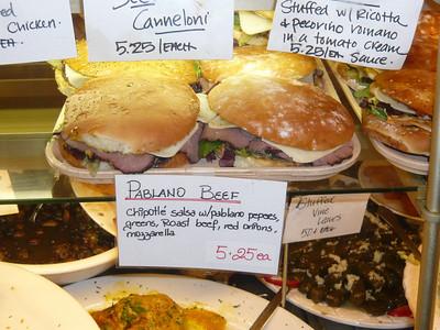 Amazing sandwiches at Michou.