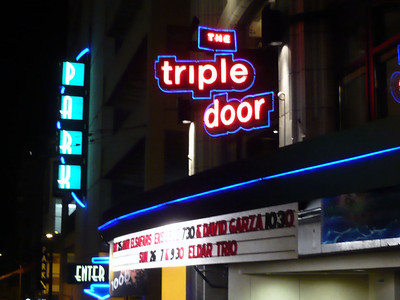 Amir ElSaffar led the Two Rivers Suite at the Triple Door.  Wild Ginger provided the food - it was incredible.