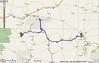 Per Google Maps, 487 mi – about 7 hours 40 mins but with lunch and a stop at Little Big Horn, no time for Devil's Tower.