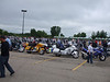 The crowd at the Chicagoland Ride for Kids, 2008.