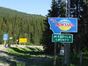 """""""Welcome to Montana"""" towards the east."""