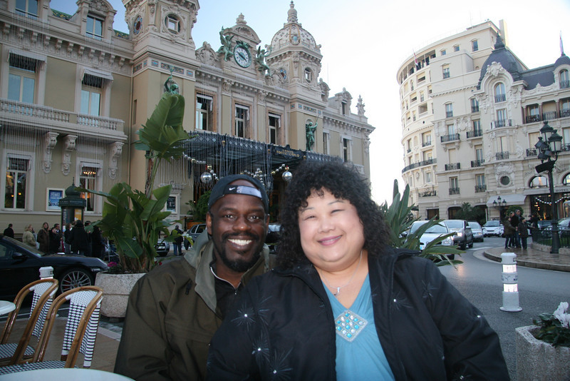 In front of the Casino in MonteCarlo.